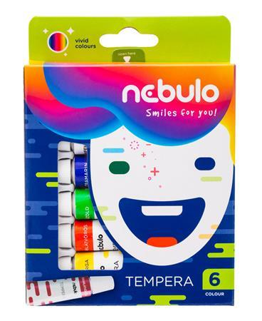 Tempera, 6 ks, NEBULO