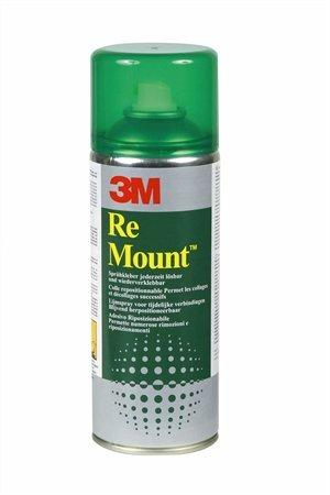 "Lepiaci sprej, 400 ml, 3M SCOTCH ""ReMount"""